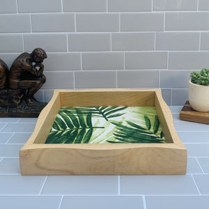 Rolling Waves Tray - Maple