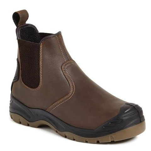Apache Ap715sm Safety Boots Brown