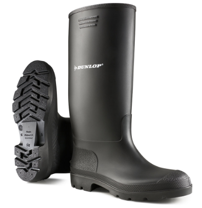 Dunlop Non Safety Wellington Boot Black UK 13