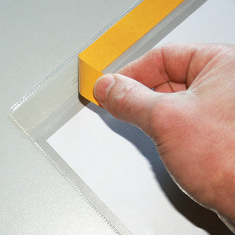 Wall Mounted Document Holder Self Adhesive Clear Wall Mounted Document Holder