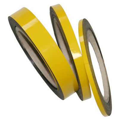 Magnetic Tape Easy To Cut Yellow Magnetic Tape Roll For Location Identification