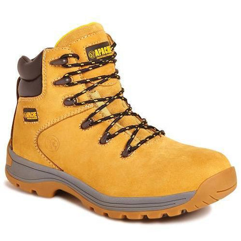 Apache Nubuck Water Resistant Hiker Safety Boots uk 10