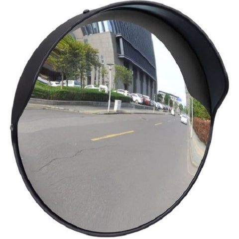 300mm External Polypropylene Steel Blind Spot Mirrors Black