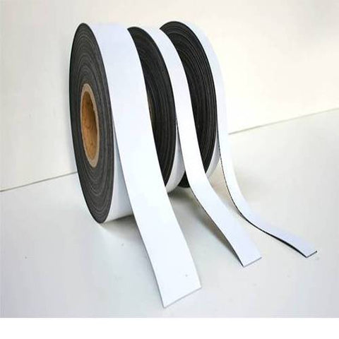 White Self Adhesive Magnetic Tape