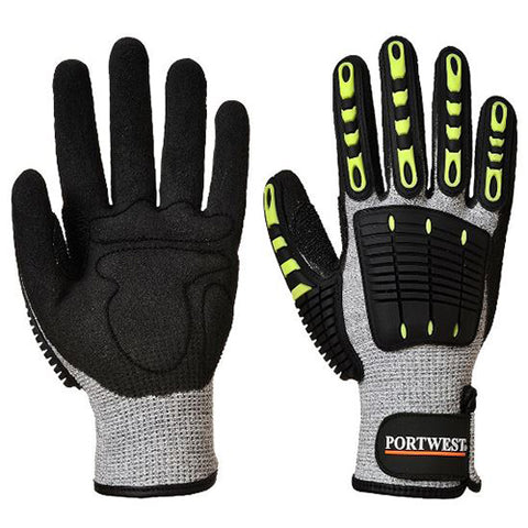 Anti Impact Cut Resistant Gloves Large
