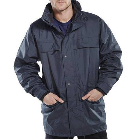Lightweight Waterproof Outdoor Jacket PU Coated Small