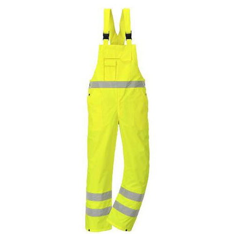 Hi Vis Bib And Brace Unlined Small