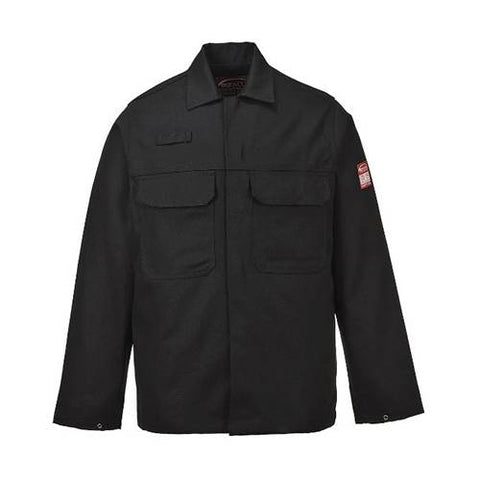 Work Jacket Fire Resistant Black Bizweld XL