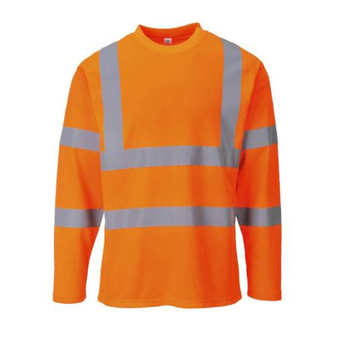 Hi-vis Long Sleeved T-shirt XXL Orange