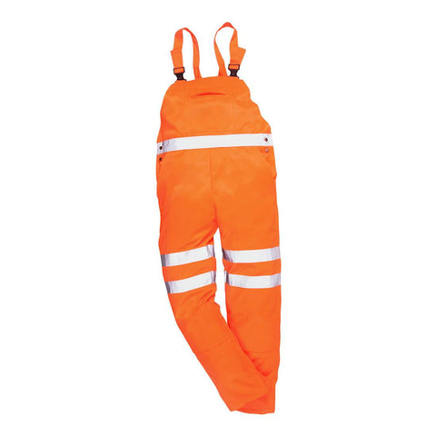 Hi-vis Bib & Brace Ris Medium