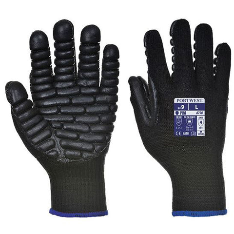 Anti Vibration Gloves Large