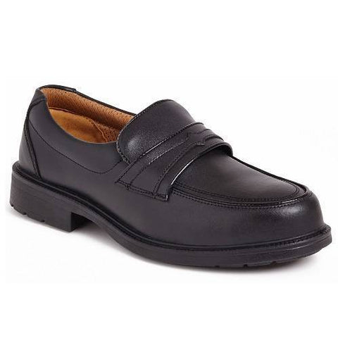 City Knights Slip On Executive Safety Shoes Men SS503CM UK 11