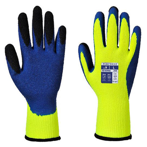Portwest Thermal Latex Gloves Medium