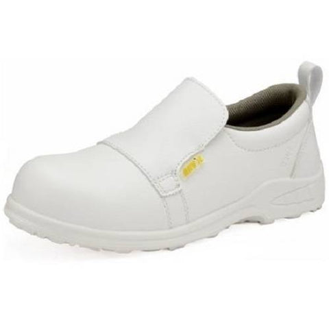 Breathable Non Slip Steel Toe Cap Catering Shoes