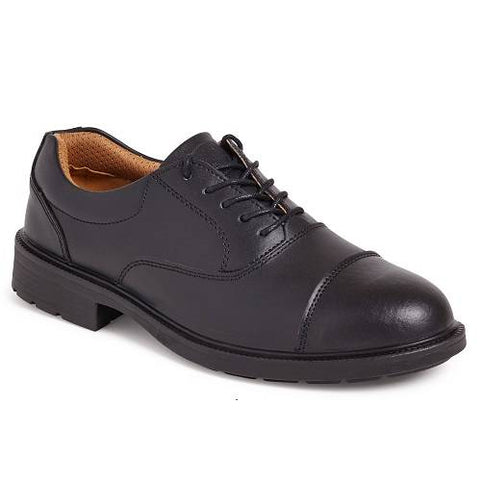 City Knights Oxford Executive Safety Shoes Mens UK 5