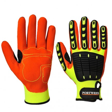Anti Impact Grip Gloves Medium