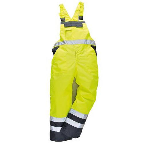 Portwest Bib & Brace Waterproof Breathable Lined Small