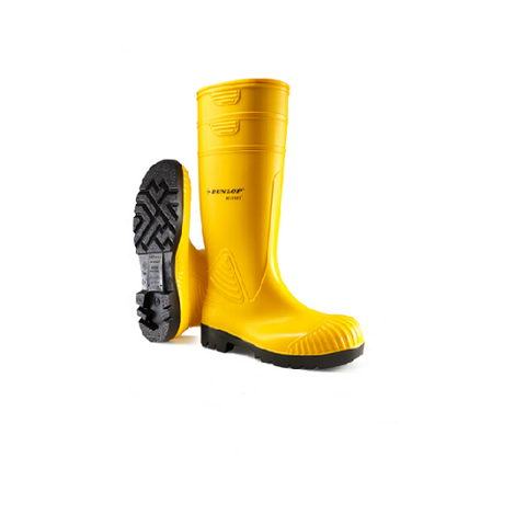 Dunlop Heavy Duty Full Safety Wellingtons UK 10.5