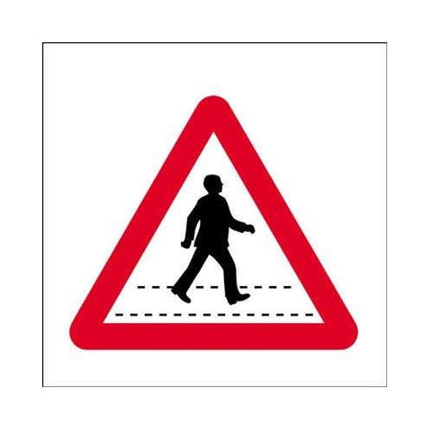 Traffic Sign Pedestrian Crossing 450mm