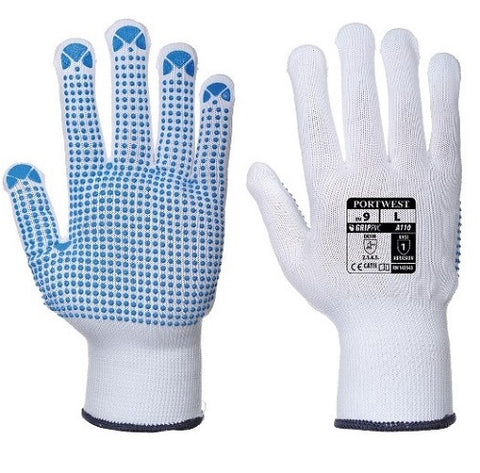 PVC Dotted Gloves Large