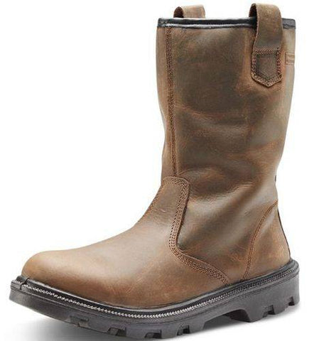 Anti Static High Quality Rubber Safety Rigger Boot UK 8