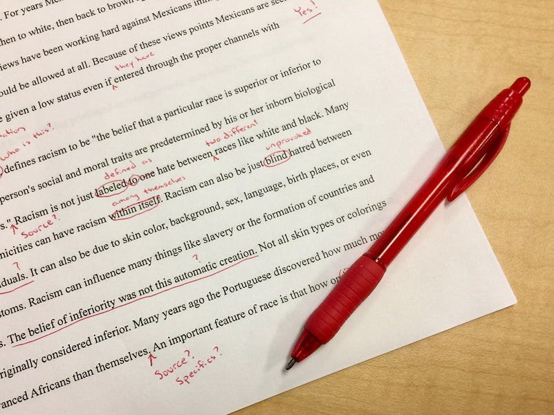 Essay Correction