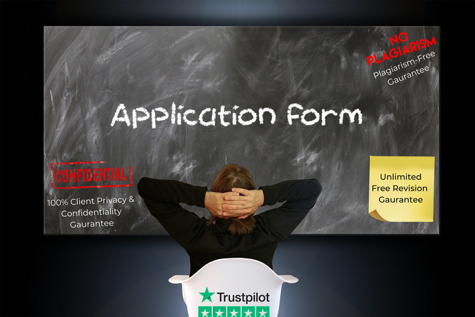 Application Form writing service