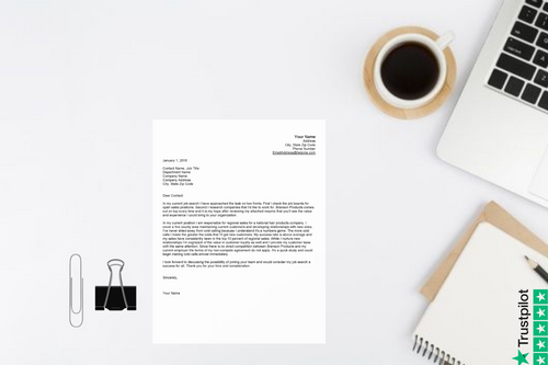Specific Cover Letter