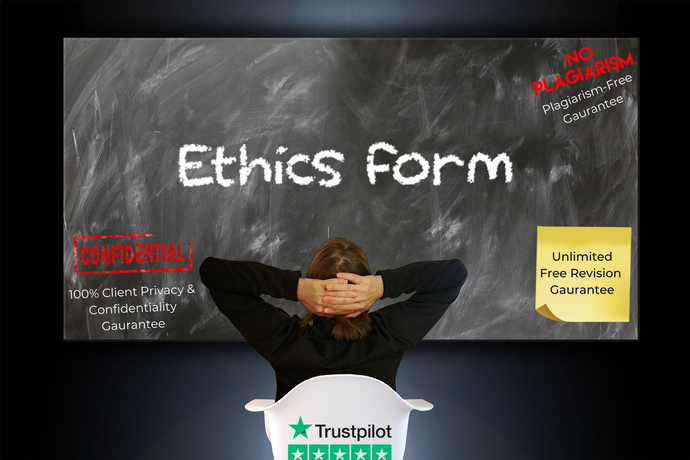 ethics form writing service