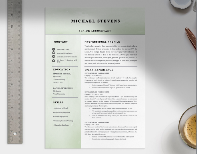 Senior Accountant CV