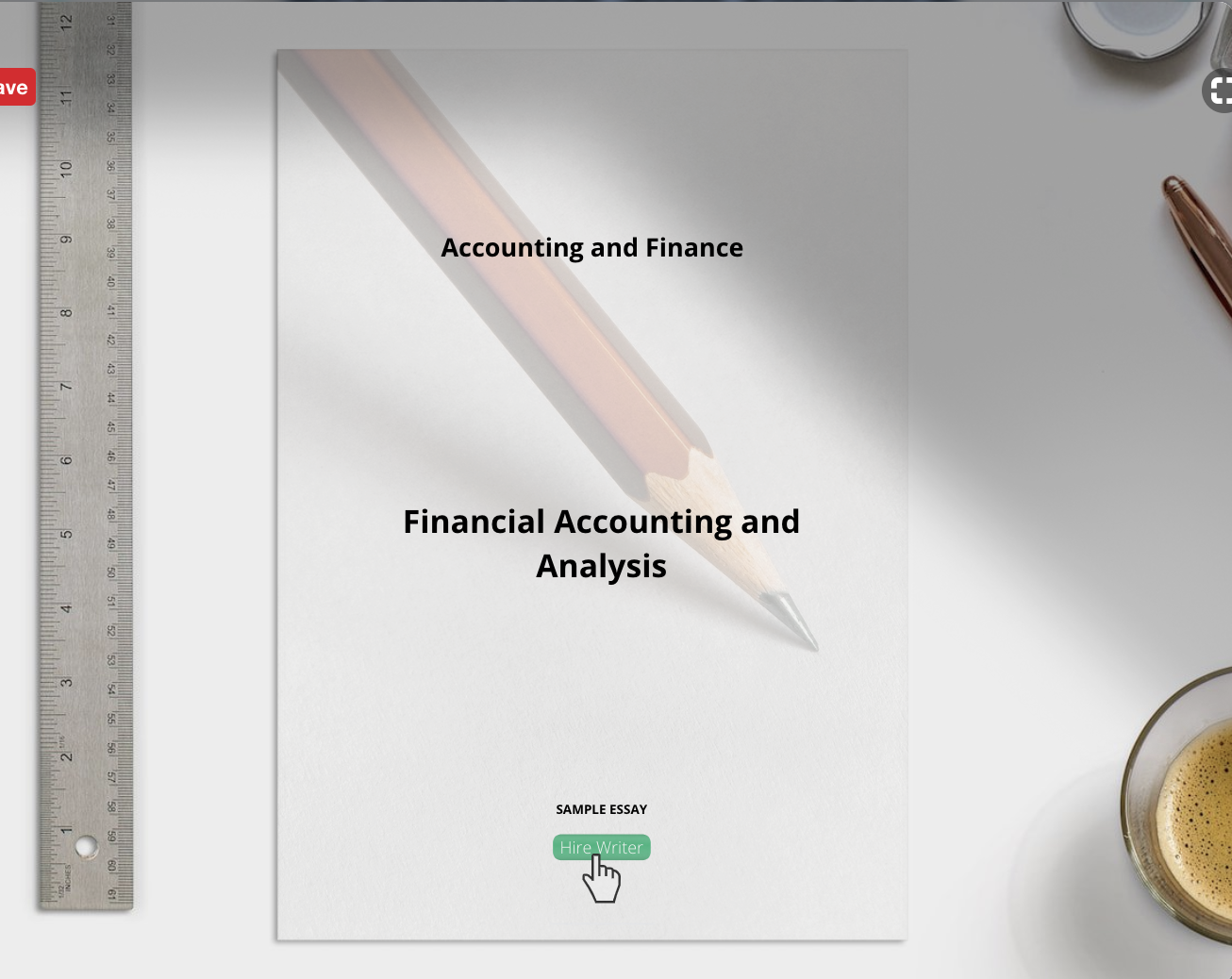 Financial Accounting and Analysis Essay sample