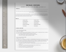 Load image into Gallery viewer, Dams Professional CV Template
