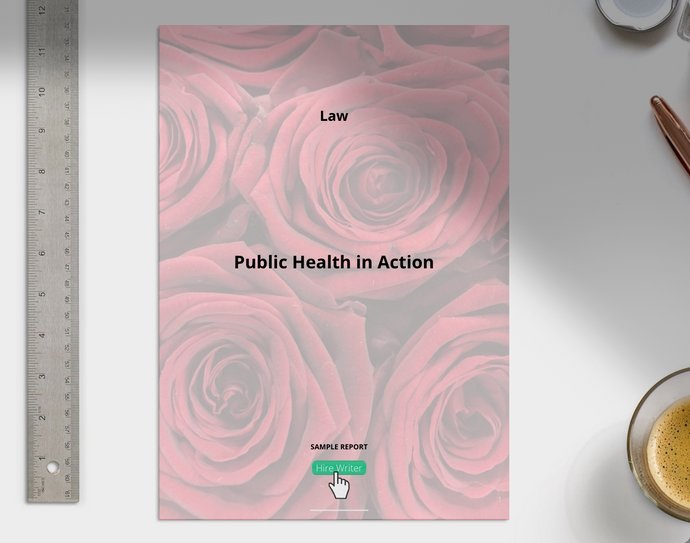 Public Health in Action Report