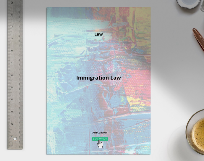 Immigration Law essay sample