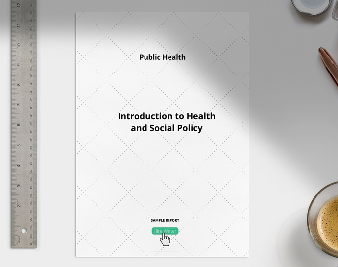 Introduction to Health and Social Policy essay sample