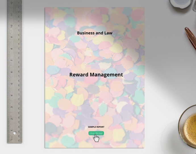 Business and Law Reward Management Report - Grammarholic