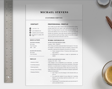 Load image into Gallery viewer, Professional Customer Service CV