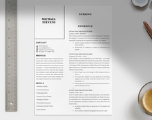 Load image into Gallery viewer, Adams 1-2 page CV Templates