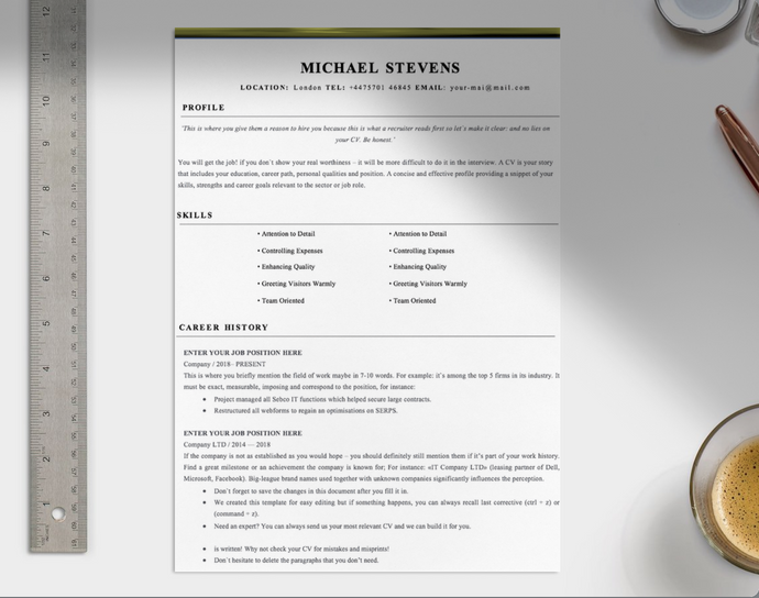 Customer Service Assistance CV