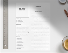 Load image into Gallery viewer, Adams Proffesional CV Template