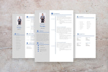 Load image into Gallery viewer, Executive Assistant Resume, 3 Page CV Templates
