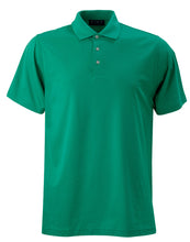 Load image into Gallery viewer, Men's Pima Cotton/Poly Performance Poloshirt