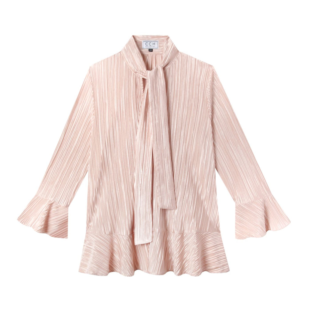 Watson Blouse in Drapey Disco Blush - CCH Collection ?id=13633407778953