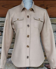 Load image into Gallery viewer, Women's Alpaca/Wool Shirt Jacket