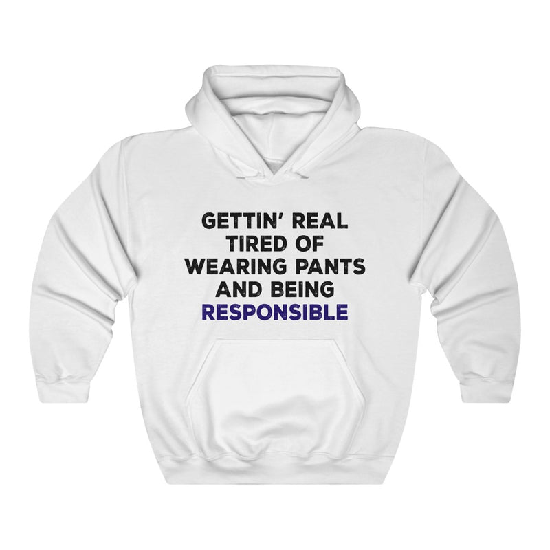 Gettin' Real Tired Unisex Heavy Blend™ Hooded Sweatshirt