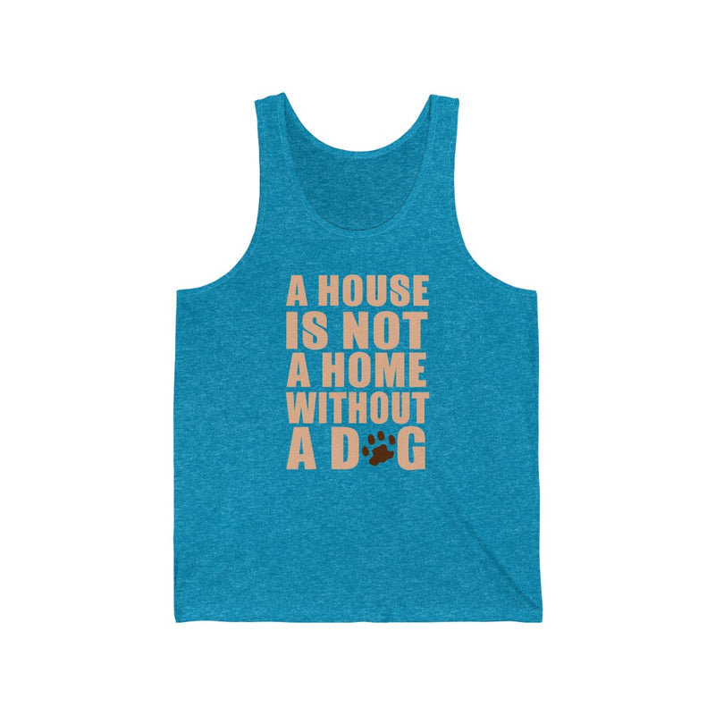 A House Is Not Unisex Jersey Tank