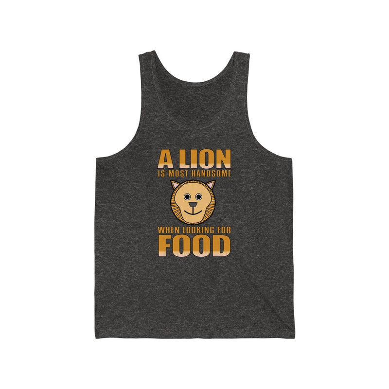 A Lion Is Most Unisex Jersey Tank