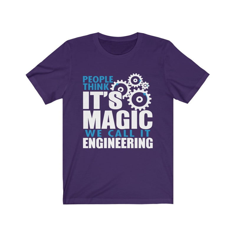 People Think It's Magic Unisex Jersey Short Sleeve T-shirt
