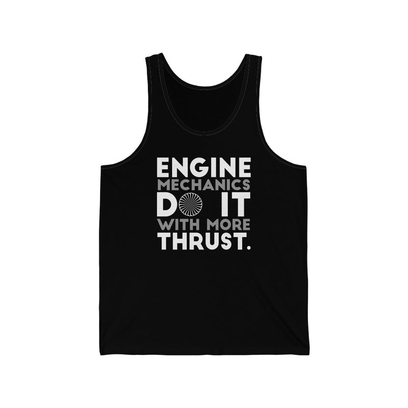 Engine Mechanics Unisex Jersey Tank