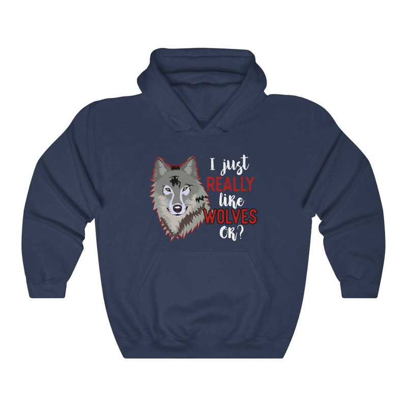 I Just Really Unisex Heavy Blend™ Hoodie